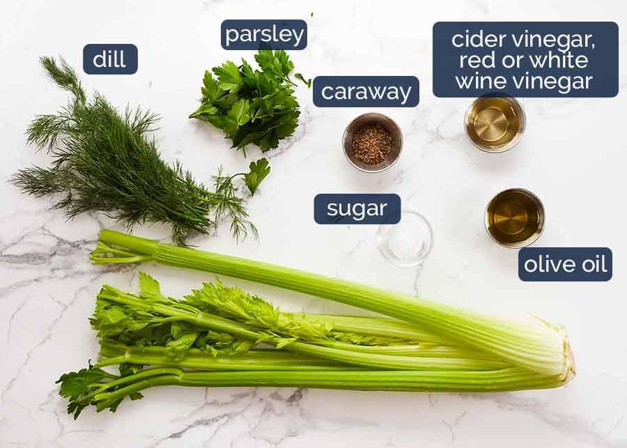 Celery Salad Ingredients