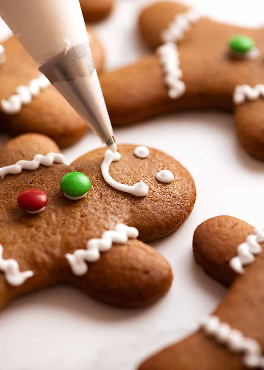 How to decorate Gingerbread Men