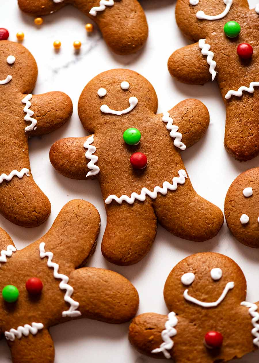 Pile of Gingerbread Men