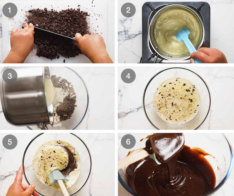 How to make Chocolate Ganache