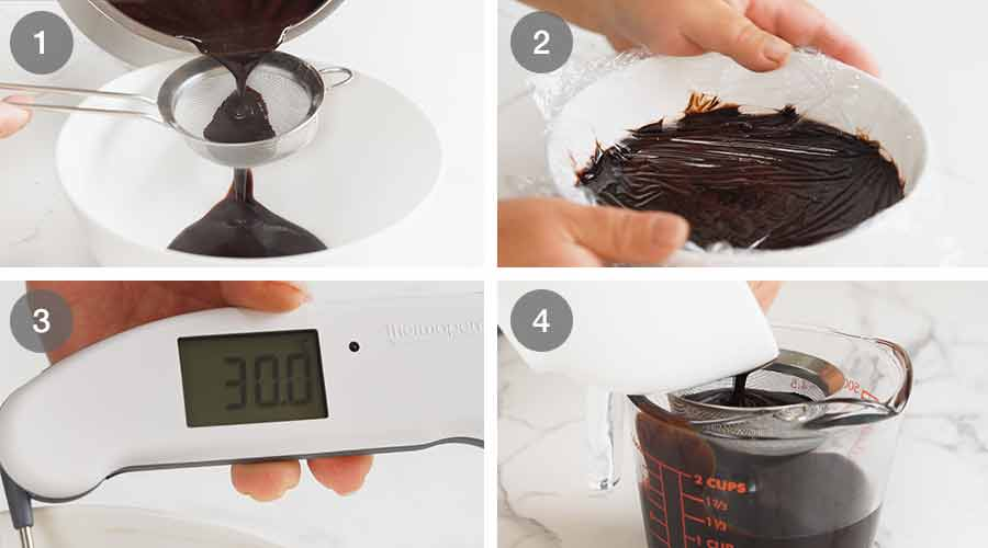 How to make Chocolate Mirror Glaze