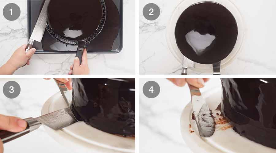 How to make Chocolate Mirror Glaze