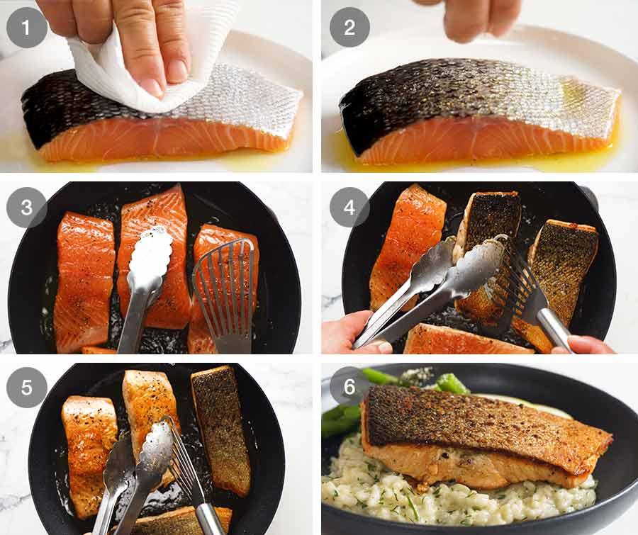 How to make Crispy Skin Salmon
