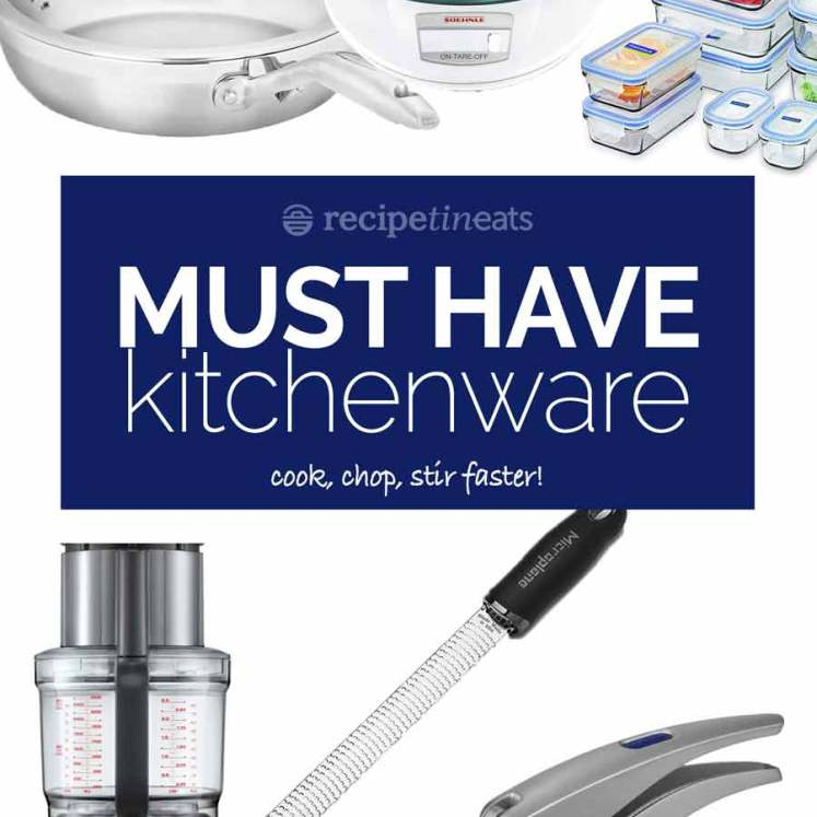RecipeTin Eats Essential kitchenware