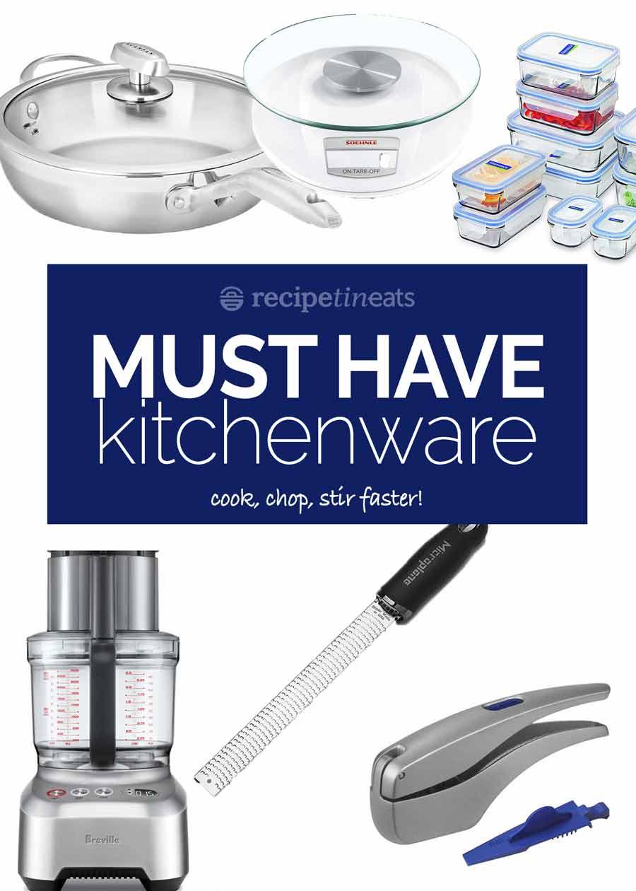 RecipeTin Eats Essential kitchenware