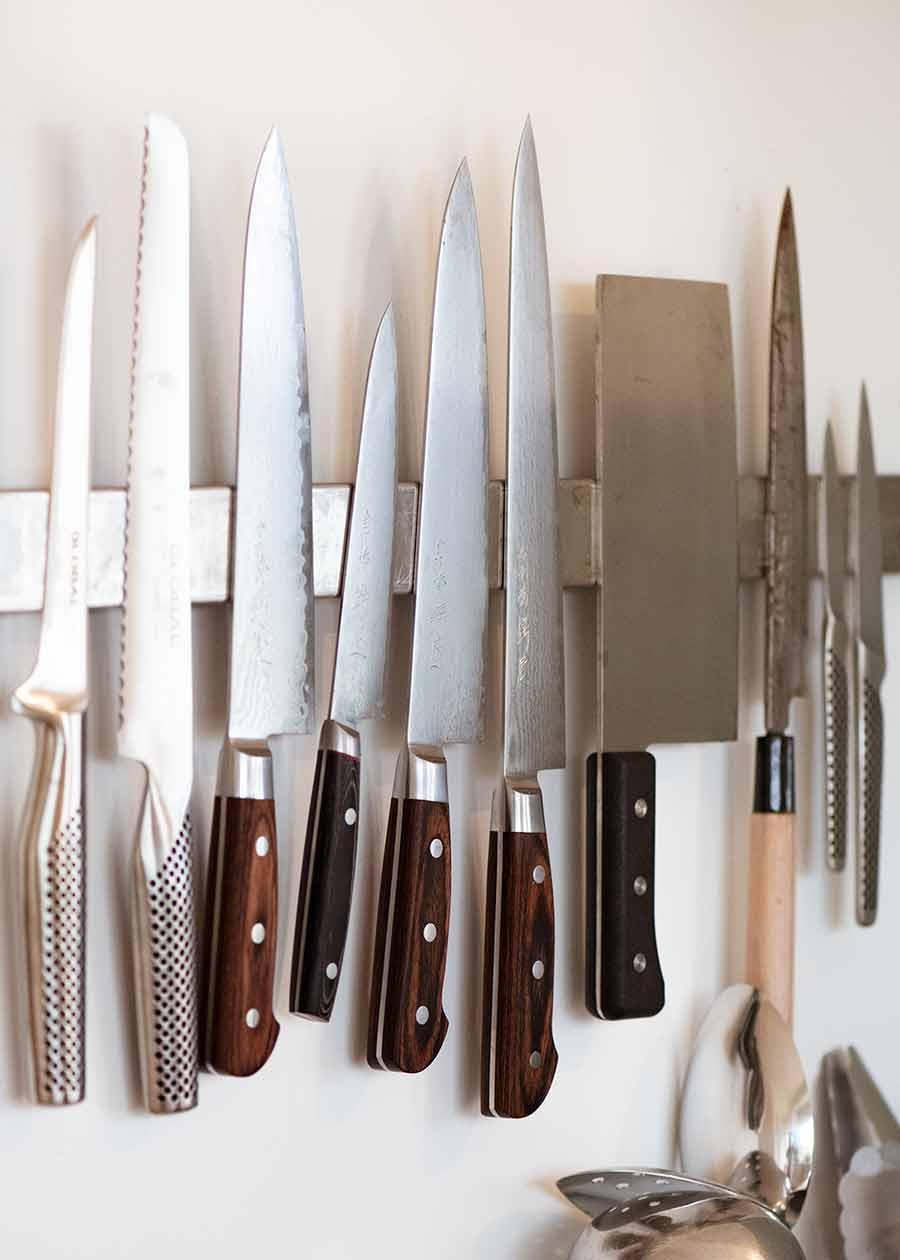 Nagi knife collection