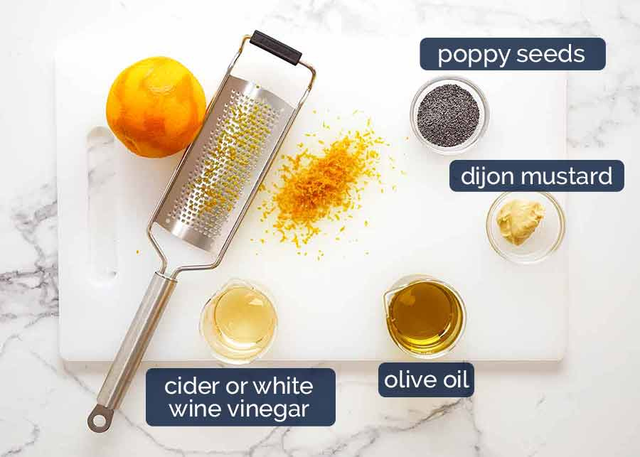 Ingredients in Orange Poppyseed Dressing