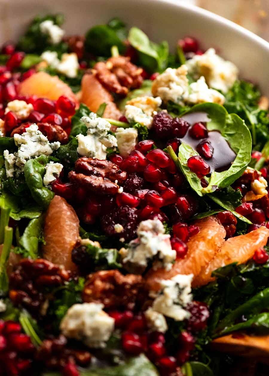 Pomegranate Salad & Holiday Salad Marathon!