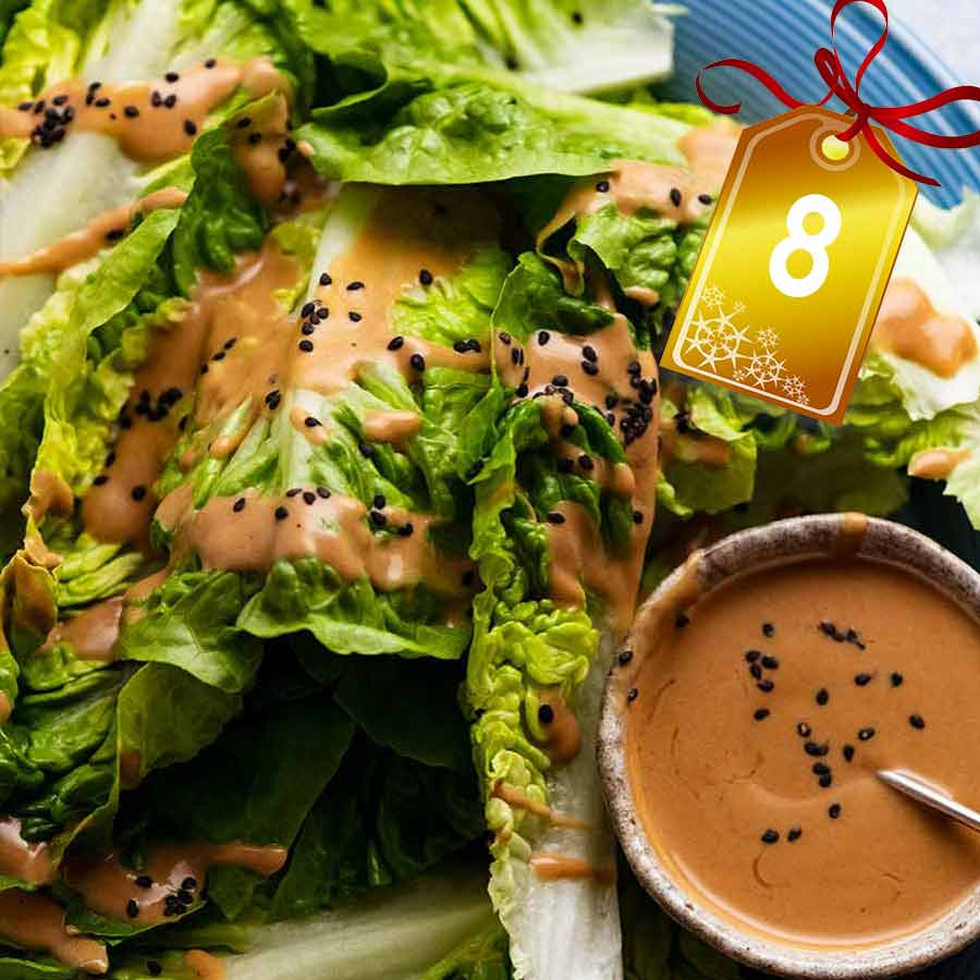 Spicy Joint's Creamy Sesame Sauce Lettuce Salad
