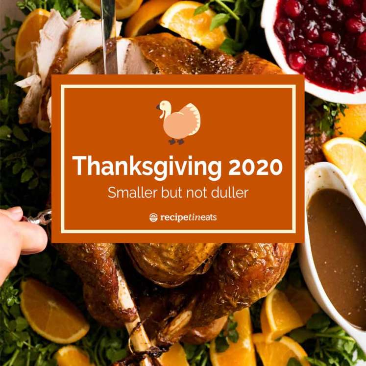 Thanksgiving Menu 2020