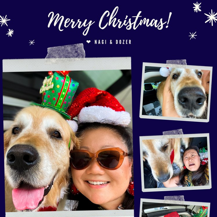Nagi Dozer Christmas 2020 Selfie