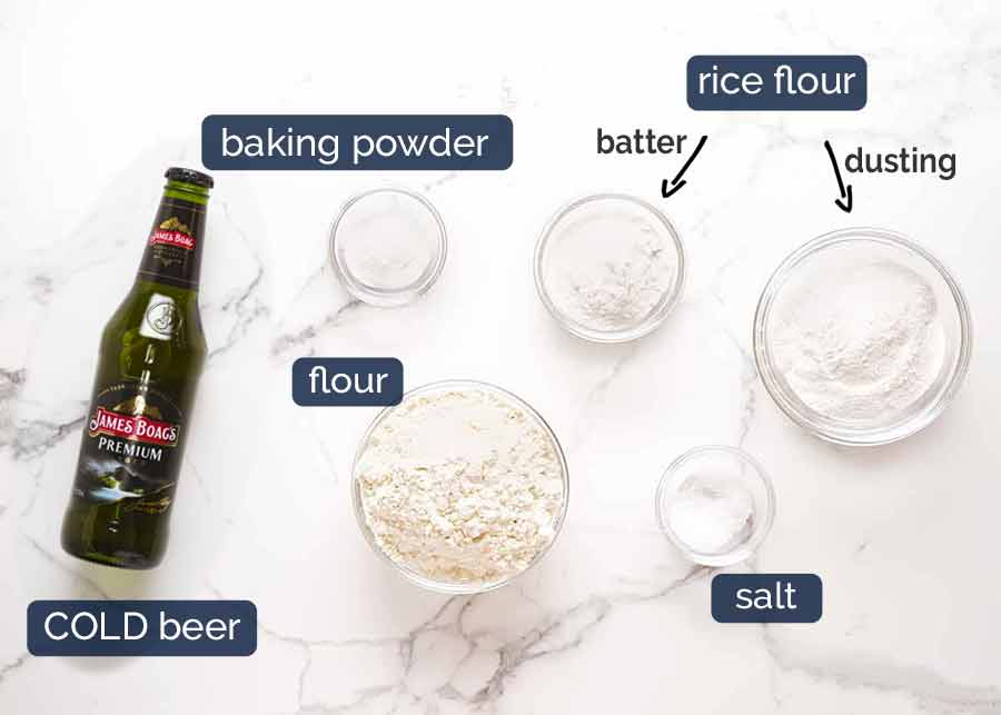 Ingredients in Beer Battered Fish