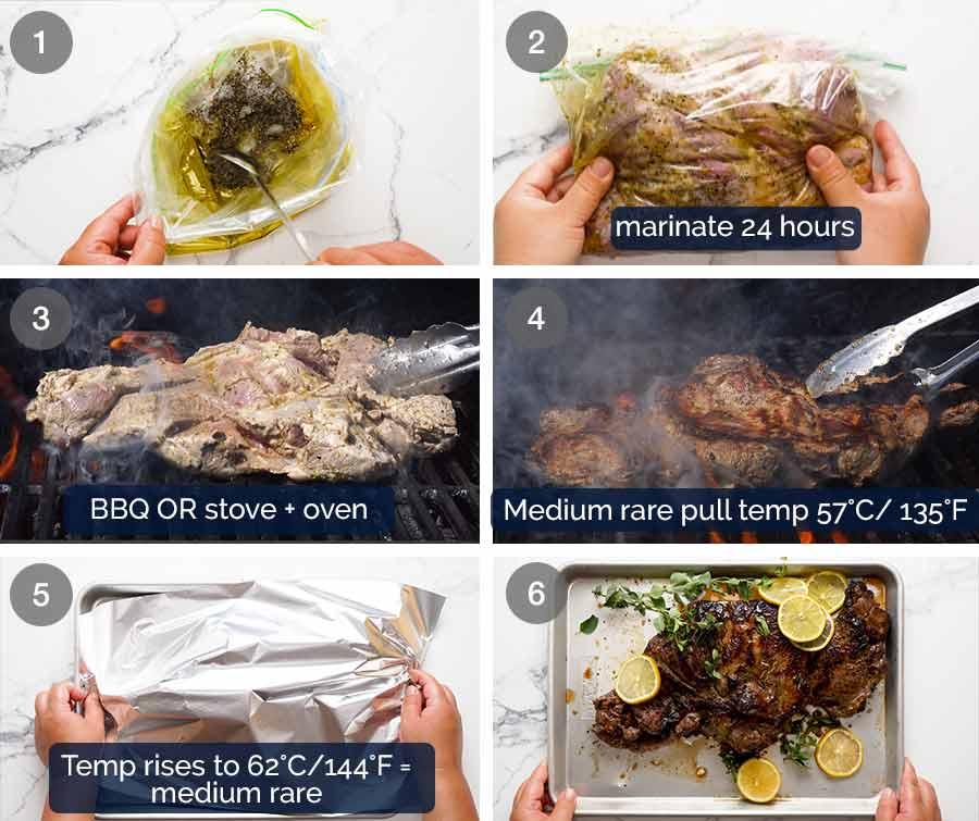 How to make Greek Butterflied Lamb Leg