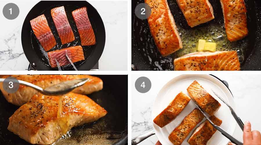 How to make Creamy Herb & Garlic Salmon Sauce