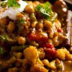 Close up of Vegetable Tagine