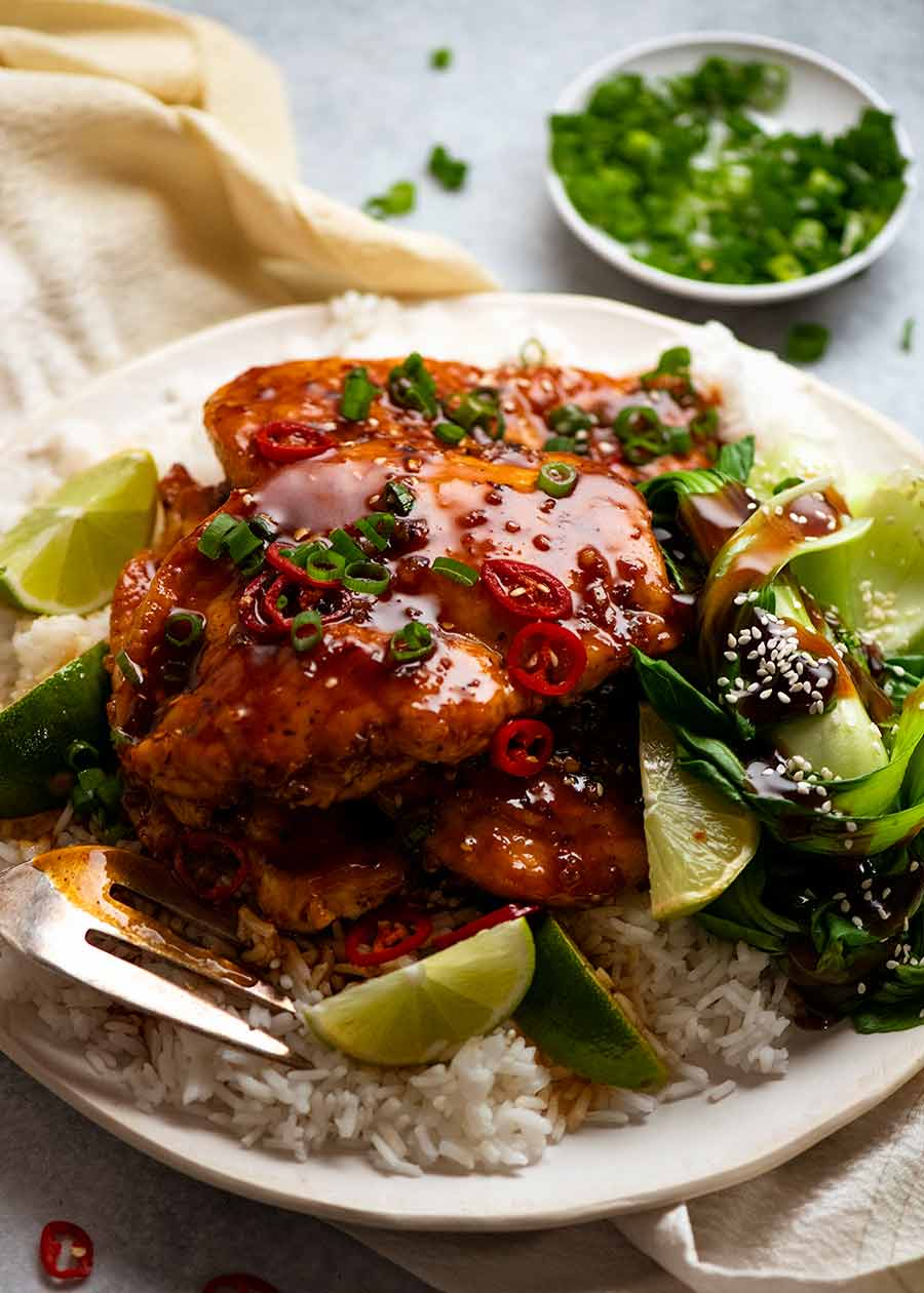 Asian Chilli Chicken