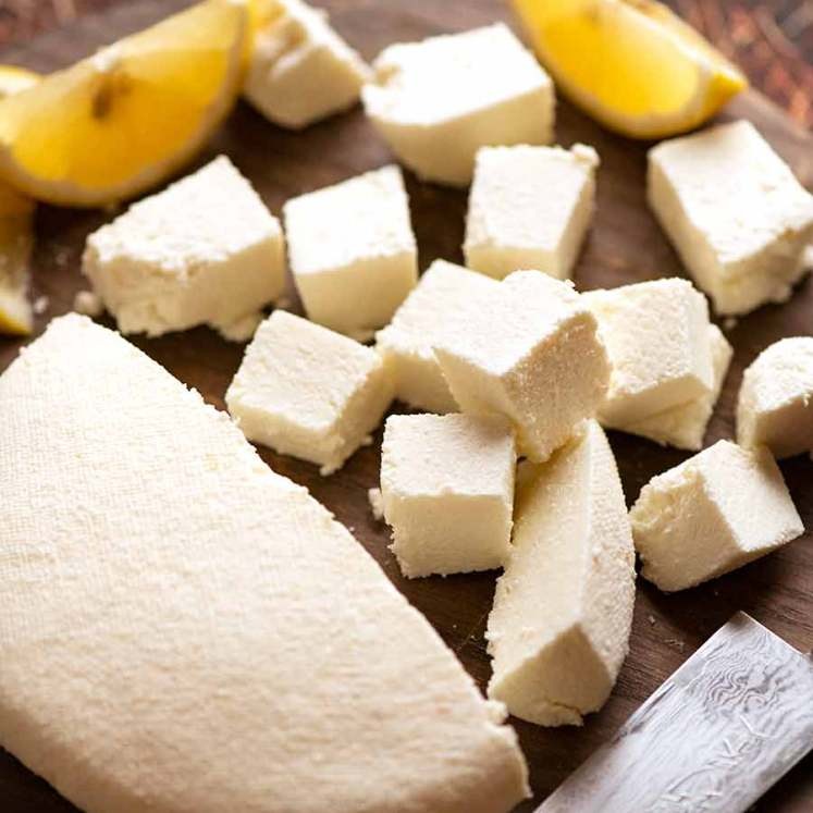 How to make Paneer - Fresh Indian Cottage Cheese