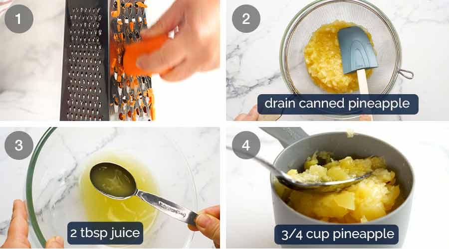 Como fazer cupcakes de bolo de cenoura com cobertura de cream cheese