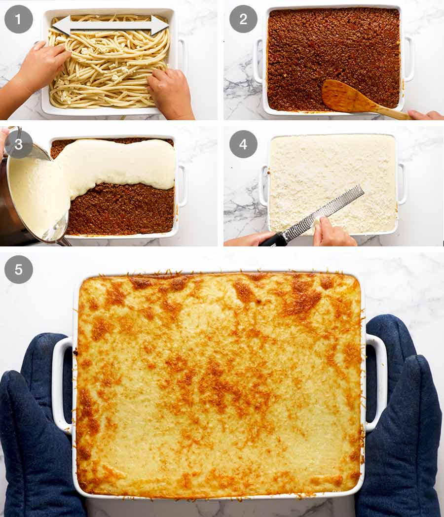 How to make Pastitsio