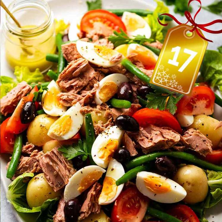 Salad Nicoise - French Tuna Salad