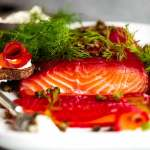 Beetroot Cured Salmon (Gin or Vodka)