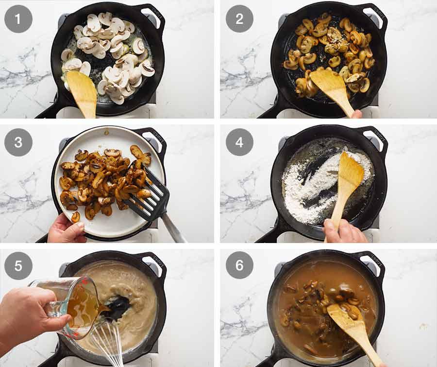 How to make Mushroom Gravy