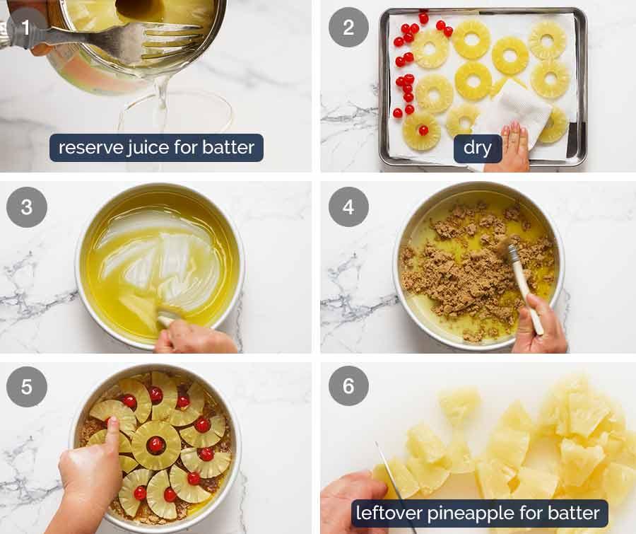 How to make Pineapple Upside Down Cake