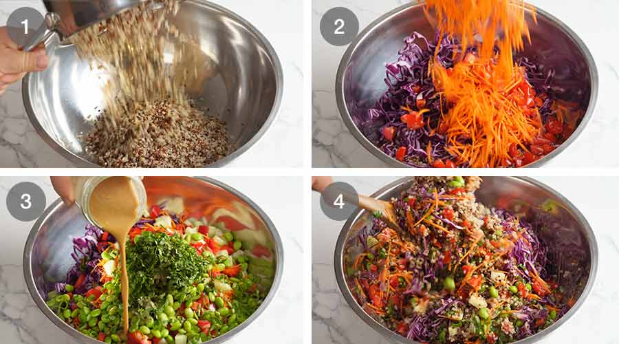 How to make My Favourite Quinoa Salad