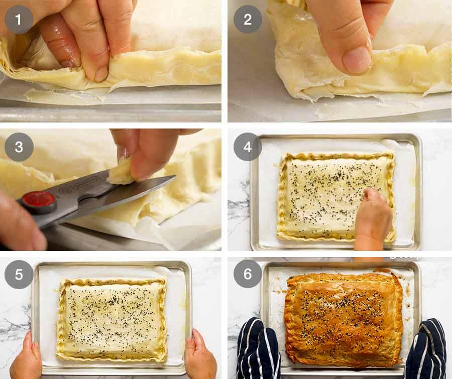 How to make Spanakopita