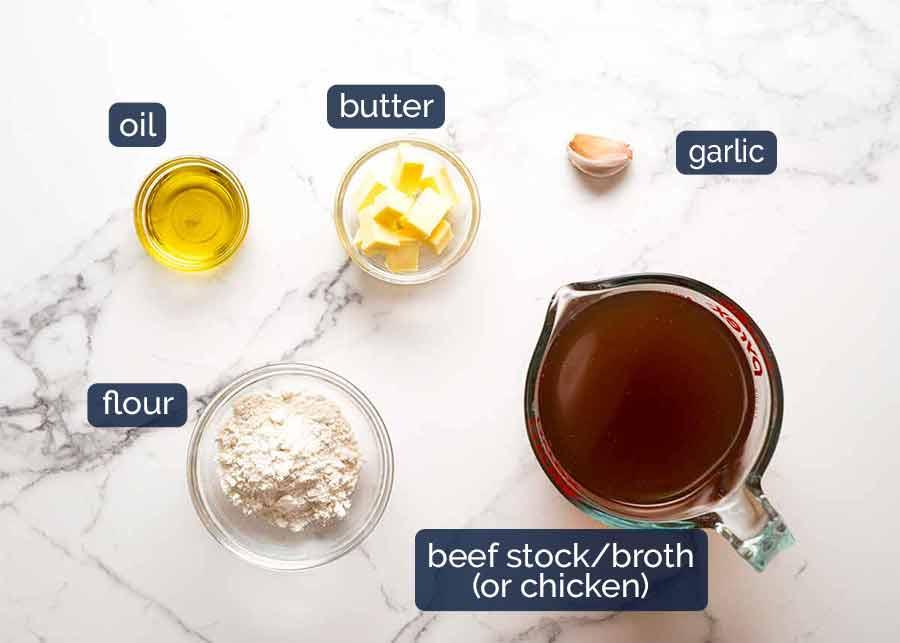 Ingredients in Mushroom Gravy