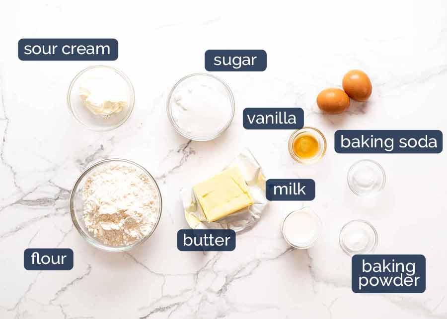 Ingredients in Pineapple Upside Down Cake