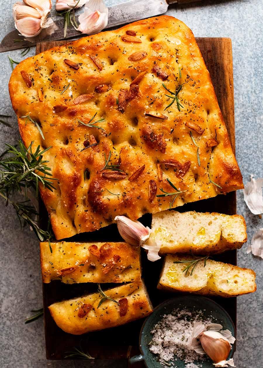 Focaccia recipe (it's incredible)