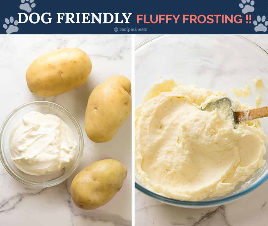 Ingredients in dog friendly frosting