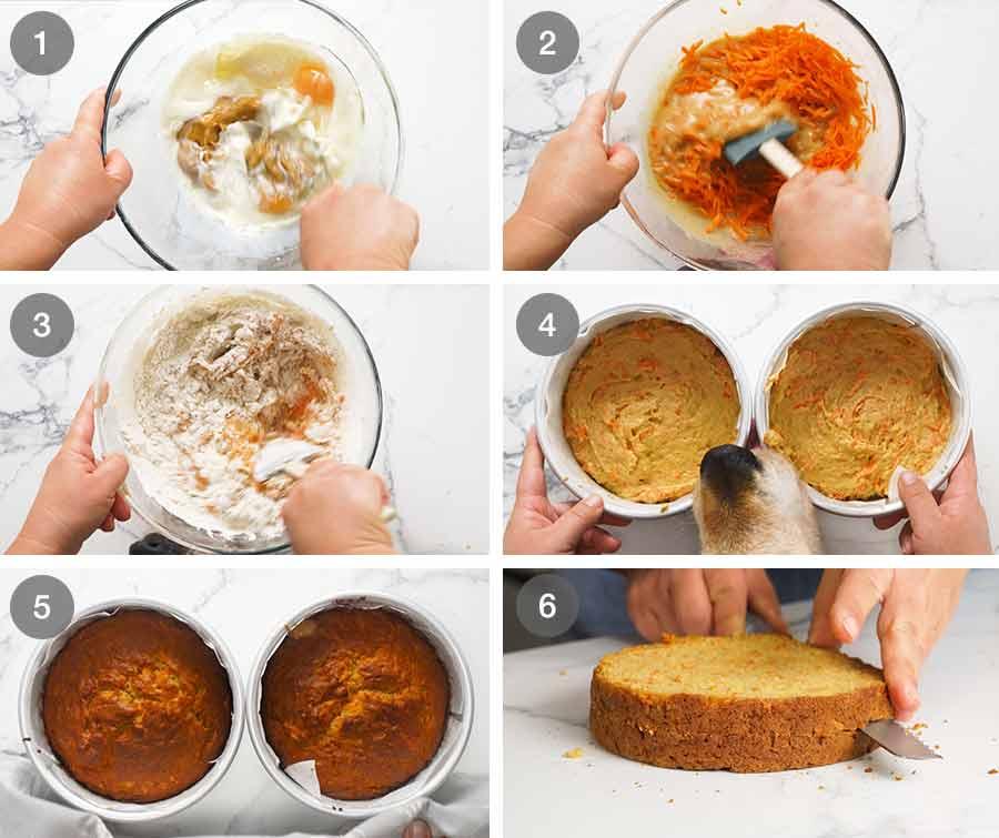 How to make Drip Frosting Dog Birthday Cake