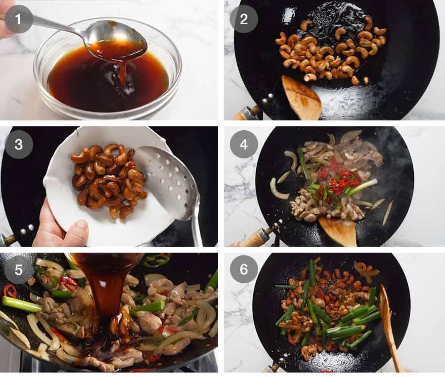 How to make Thai Cashew Chicken Stir Fry