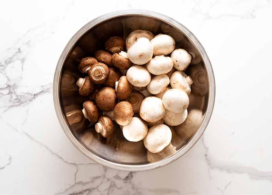 Mushrooms for Mushroom Soup