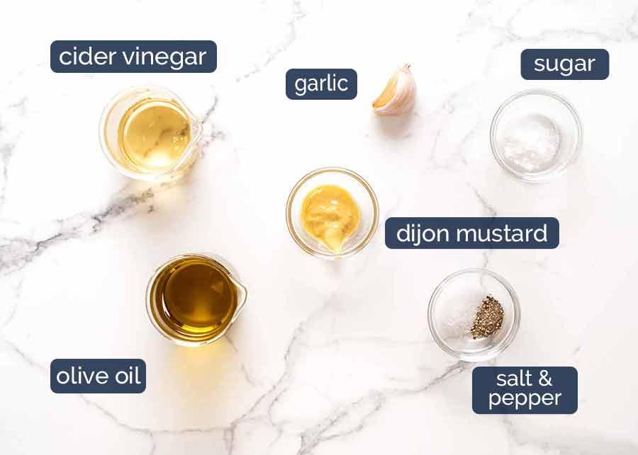 Red Potato Salad Cider Vinegar Dressing ingredients