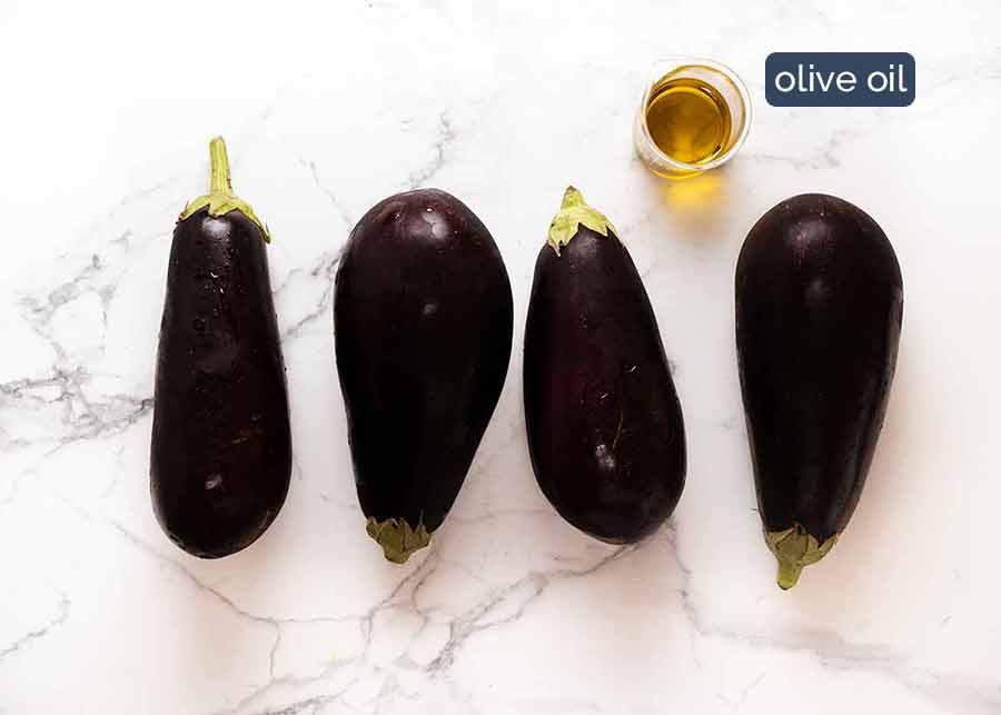 Eggplants for Eggplant Parmigiana