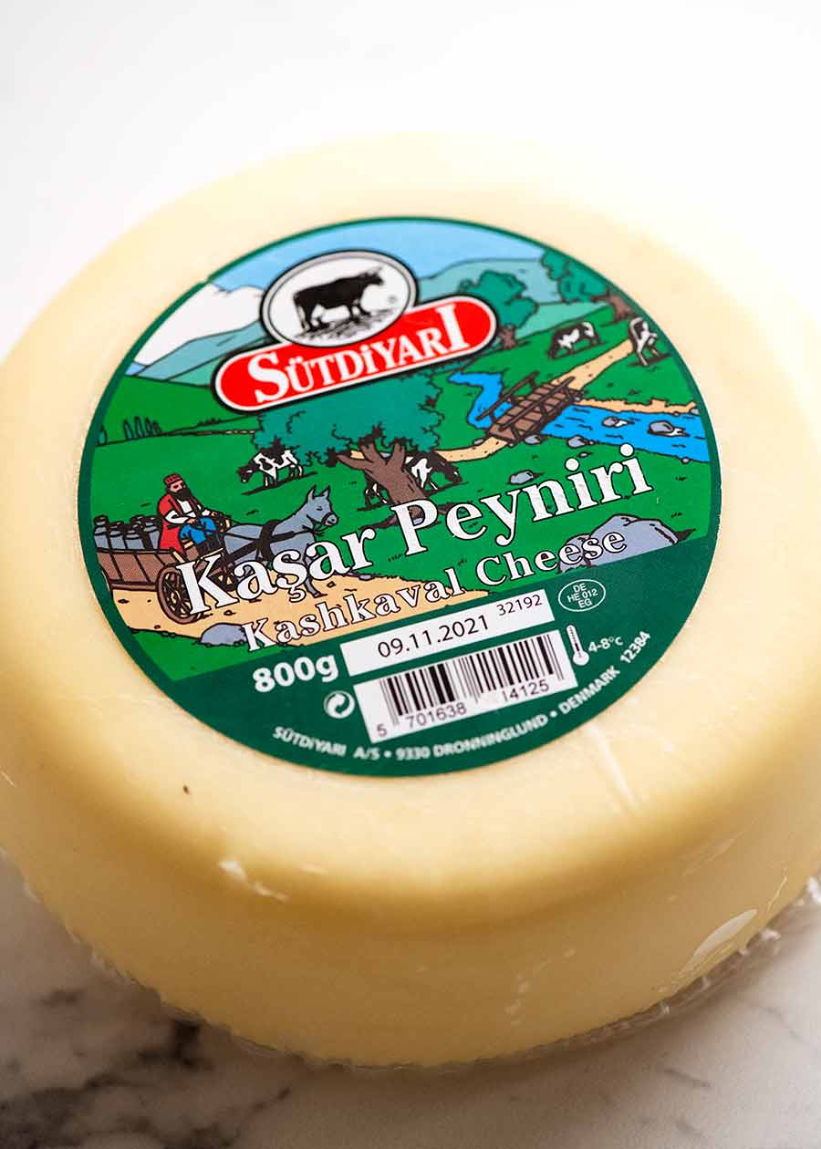Kasar Turkish Cheese for Pide