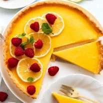 French Lemon Tart - Tarte au citron