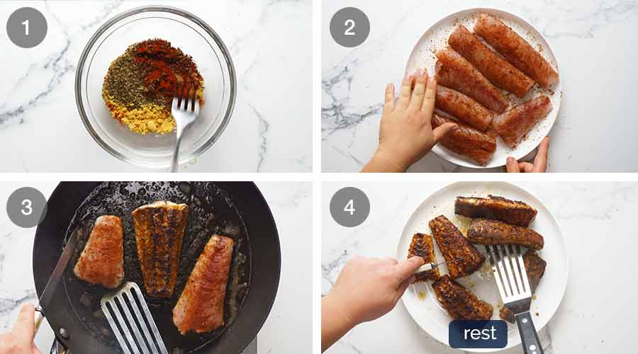 How to cook fish with fish seasoning