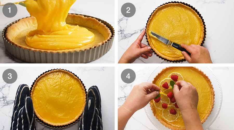 How to make French Lemon Tart - Tarte au citron