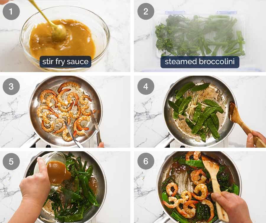 How to make a Prawn Stir Fry (Shrimp)