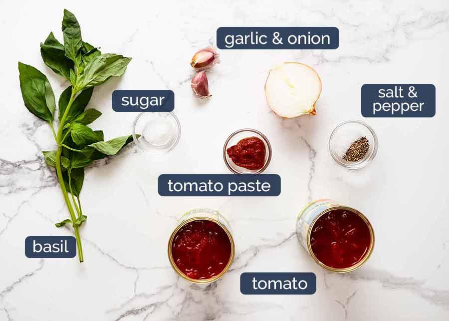 Ingredients for Malfatti - Italian Spinach Ricotta Dumplings