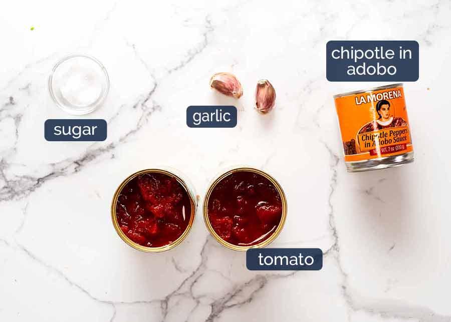 Ingredients in Mexican Meatballs Sauce