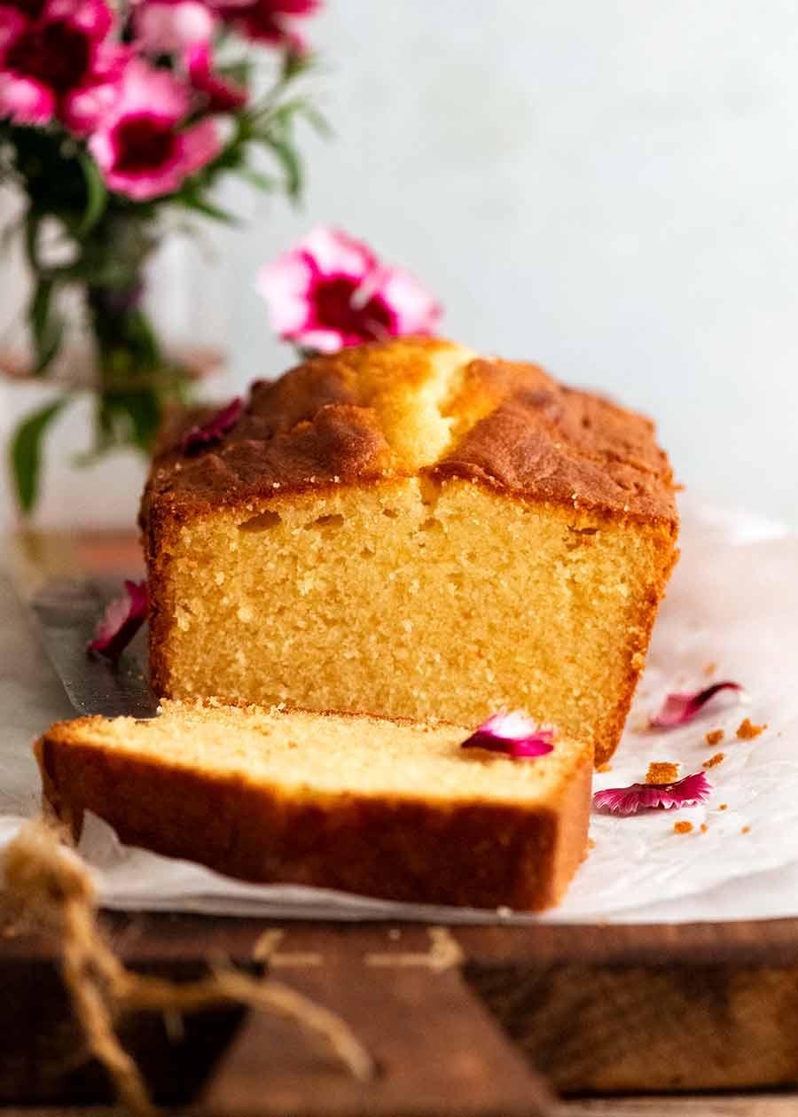 Side photo of Pound Cake