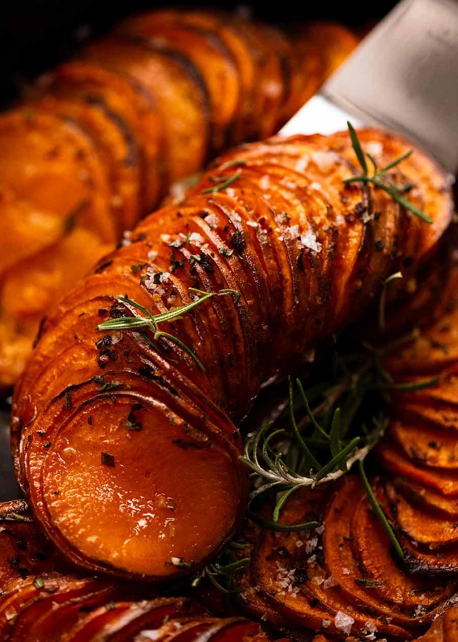 سكوب البطاطا المخبوزة (طبق جانبي)