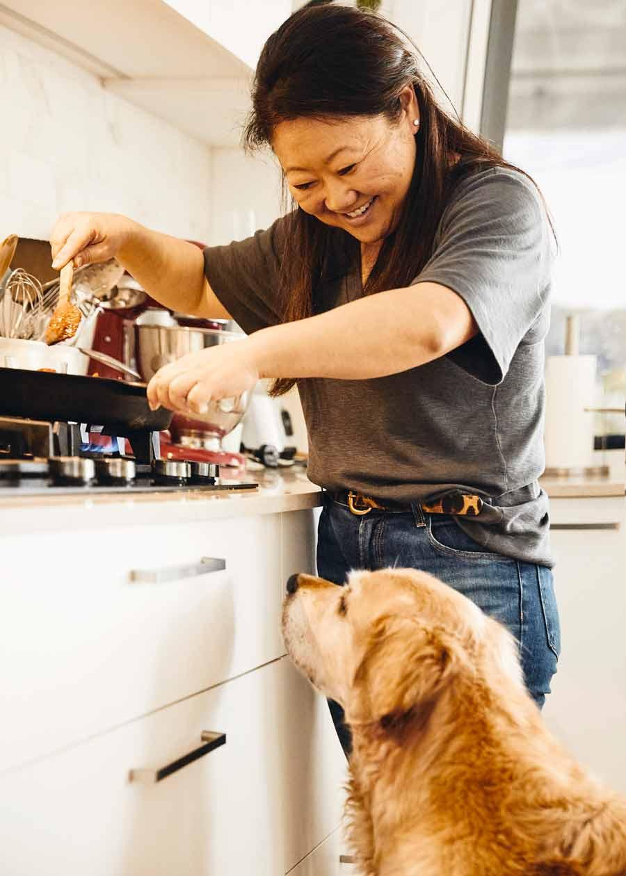 Nagi Dozer kitchen Newport