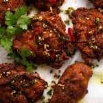 Freshly cooked Ayam Goreng (Malaysian Fried Chicken)