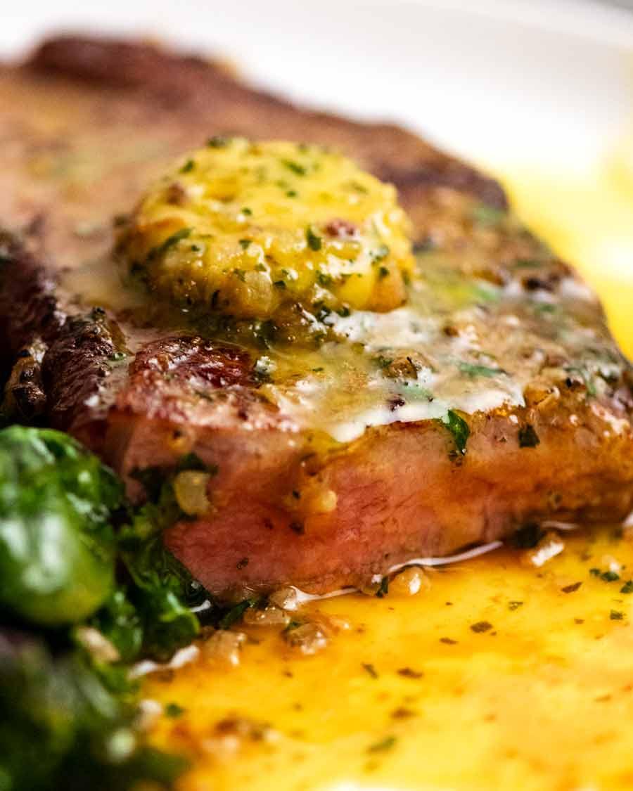 Café de Paris butter – sauce for steak